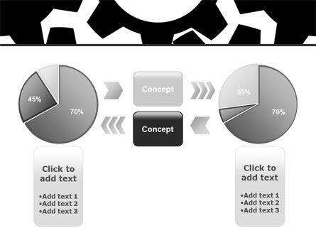 Gear Wheels Mechanism PowerPoint Template Slide 11