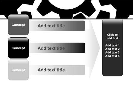 Gear Wheels Mechanism PowerPoint Template Slide 12