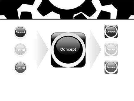 Gear Wheels Mechanism PowerPoint Template Slide 17