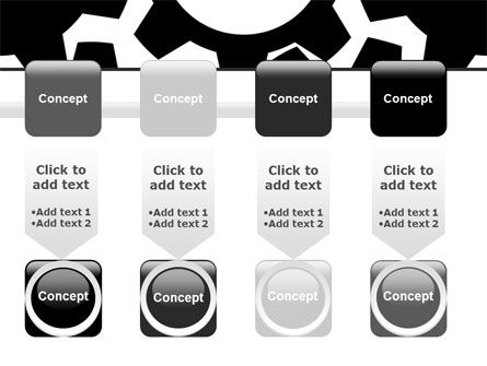 Gear Wheels Mechanism PowerPoint Template Slide 18
