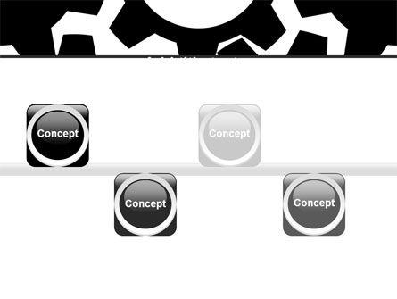 Gear Wheels Mechanism PowerPoint Template Slide 19