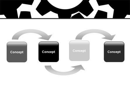 Gear Wheels Mechanism PowerPoint Template Slide 4