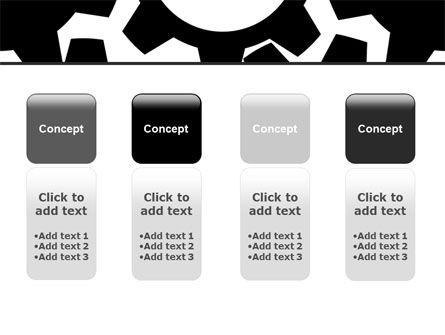 Gear Wheels Mechanism PowerPoint Template Slide 5