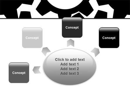 Gear Wheels Mechanism PowerPoint Template Slide 7