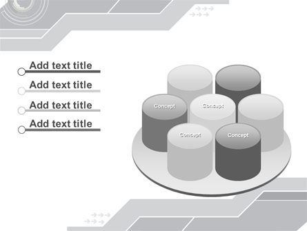 Neutral Gray PowerPoint Template Slide 12