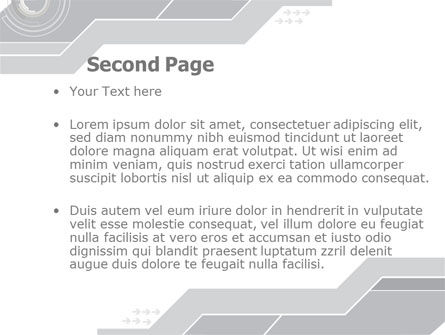 Neutral Gray PowerPoint Template, Slide 2, 08003, Business — PoweredTemplate.com