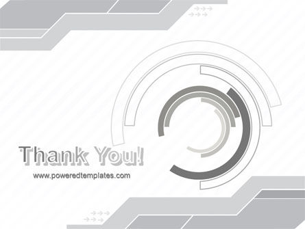 Neutral Gray PowerPoint Template Slide 20