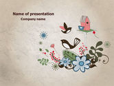 Nature & Environment: Bird Theme PowerPoint Template #08004