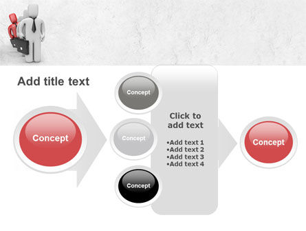 Business Queue PowerPoint Template Slide 17