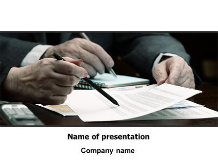 Sign Here PowerPoint Template