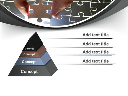 Jigsaw Fit PowerPoint Template Slide 12