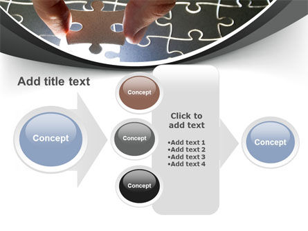 Jigsaw Fit PowerPoint Template Slide 17