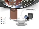 Jigsaw Fit PowerPoint Template#10