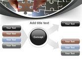 Jigsaw Fit PowerPoint Template#14