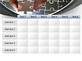 Jigsaw Fit PowerPoint Template#15