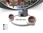 Jigsaw Fit PowerPoint Template#16