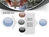 Jigsaw Fit PowerPoint Template#17