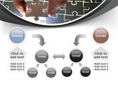 Jigsaw Fit PowerPoint Template#19