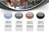 Jigsaw Fit PowerPoint Template#5