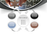 Jigsaw Fit PowerPoint Template#6