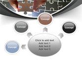 Jigsaw Fit PowerPoint Template#7