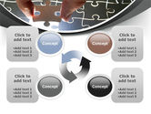 Jigsaw Fit PowerPoint Template#9