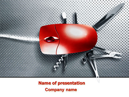 Mouse Universal PowerPoint Template