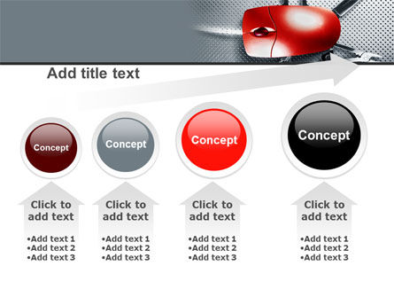 Mouse Universal PowerPoint Template Slide 13