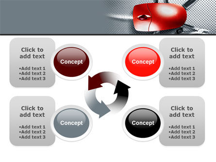 Mouse Universal PowerPoint Template Slide 9