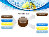 World Labyrinth PowerPoint Template#14