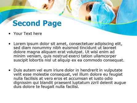 Surgical Brigade PowerPoint Template, Slide 2, 08012, Medical — PoweredTemplate.com