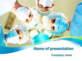 Medical: Surgical Brigade PowerPoint Template #08012