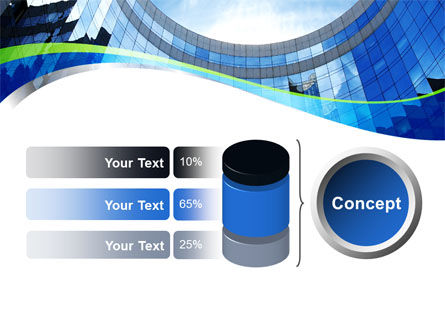 Building Skyline PowerPoint Template Slide 11