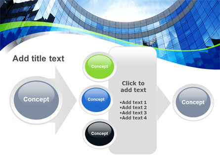 Building Skyline PowerPoint Template Slide 17