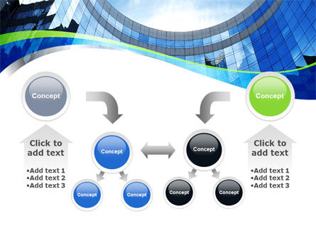 Building Skyline PowerPoint Template Slide 19