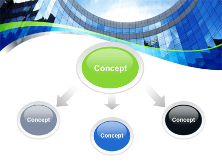 Building Skyline PowerPoint Template Slide 4