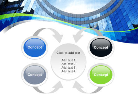 Building Skyline PowerPoint Template Slide 6