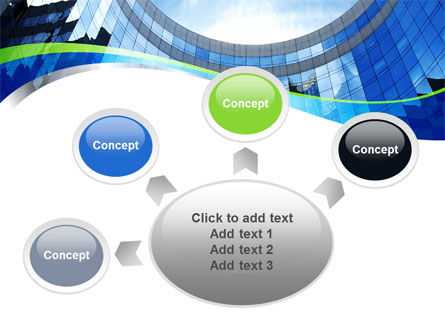 Building Skyline PowerPoint Template Slide 7