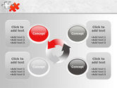 Last Red Puzzle PowerPoint Template#9