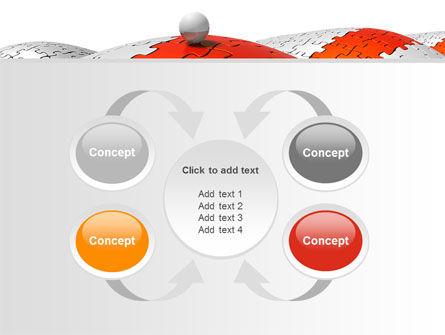Jigsaw Road PowerPoint Template Slide 6
