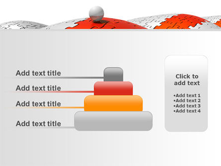 Jigsaw Road PowerPoint Template Slide 8