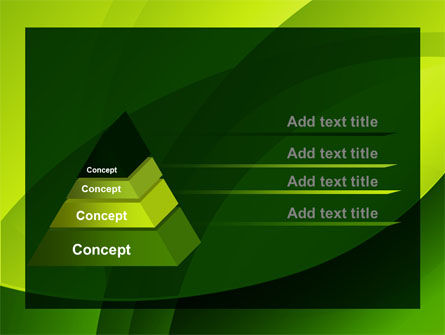 Yellow - Green Theme PowerPoint Template Slide 12