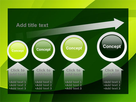 Yellow - Green Theme PowerPoint Template Slide 13