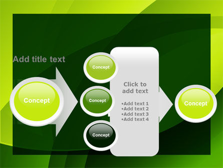 Yellow - Green Theme PowerPoint Template Slide 17