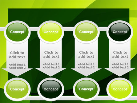 Yellow - Green Theme PowerPoint Template Slide 18