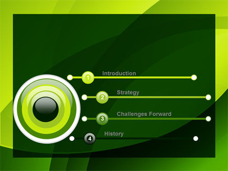 Yellow - Green Theme PowerPoint Template, Slide 3, 08016, Abstract/Textures — PoweredTemplate.com