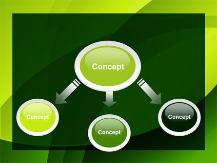 Yellow - Green Theme PowerPoint Template, Slide 4, 08016, Abstract/Textures — PoweredTemplate.com