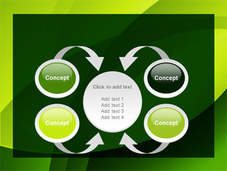 Yellow - Green Theme PowerPoint Template Slide 6