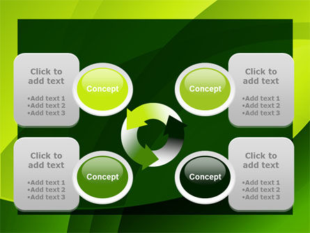 Yellow - Green Theme PowerPoint Template Slide 9