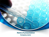 Technology and Science: Testing PowerPoint Template #08020